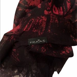 Fraas Butterfly Oversized Scarf